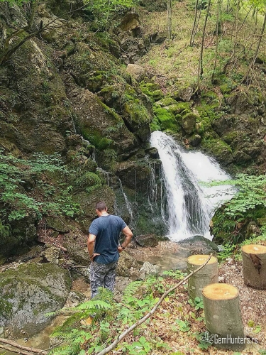 Opšutanje uz jedan od vodopada Taorskih vrela