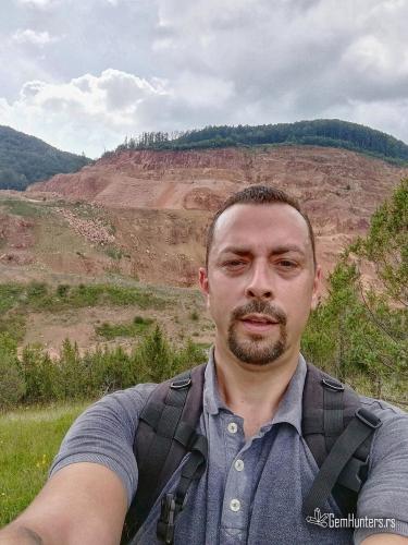 Pogled na kop u Kosjeriću
