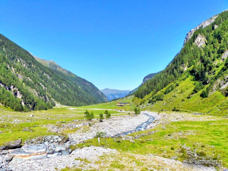 Smaragdna alpska dolina Habachtal
